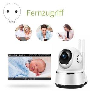 WiFi Camera 1080P HD Indoor Monitor Baby Monitor Remote Control Night Vision Motion Monitoring EU Plug