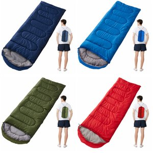 Outdoor Sleeping Bags Warming Envelope Sleeping Bag Spring Autumn Camping Travel Hiking Blankets Sleeping Bag Home Textiles CYZ2849 Sea Ship