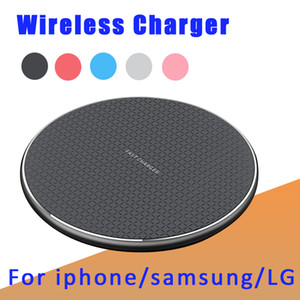 New luxury Wireless Charger Quick Charger 5W 10W fast Qi Charging Pad Compatible for iphone samsung huawei 4G 5G phone All Qi Devices