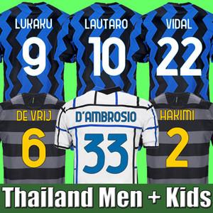 Thailand LUKAKU ICARDI LAUTOARO ERIKSEN Inter MILAN CHAMPION Mailand 2019 2020 2021 Fußball Trikot LUKAKU SENSI Meister Liga Trikot 19 20 21 Fußball-Kit-Shirt