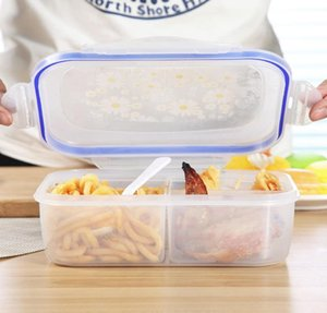 1000ml Lunch Boxes 3 Cell Food Container Healthy Plastic Bento Boxes Microware Oven Lunch Box