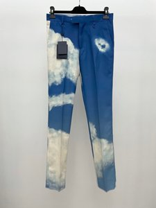 20ss pantaloni da uomo serie cielo Parigi pantaloni moda e raffreddare pantaloni