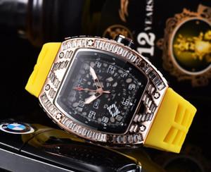 Klassische Silikonuhr Männer Frauen Uhren Liebhaber Mode Big Strass Diamanten Herren Watch Womens Uhren Uhr Clock Saat Relogio Reloj