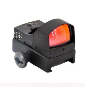 Auto Light Sense Adjustable Micro MOA Red Dot Sight For Pistol