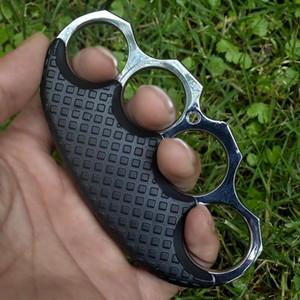 Новые железные четыре пальцев перчатки относится к правовому оружию самообороны рука опорного кольца кольцо обороны бой рука Застежка кулак застежке тигр призывателя