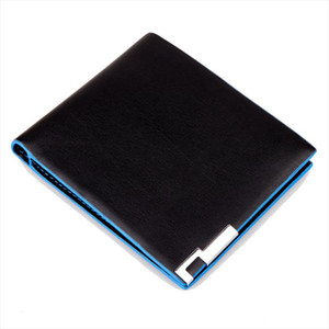 2019 Men Stylish Bifold Business wallet men Wallet With Card Holdermens wallet leather synthetic uomini portafoglio Cheap