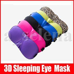 3D النوم قناع الطبيعية النوم قناع العين اييشادي غطاء الظل العين تصحيح النساء الرجال لينة المحمولة الغمامة السفر Eyepatch