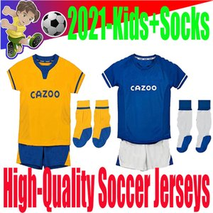 Soccer Jerseys kit socks EVERTON 20 21 kids home and away james RICHARLISON TOSUN BERNARD CALVERT-LEWIN KEAN kid Football Shirts SIGURDSSON