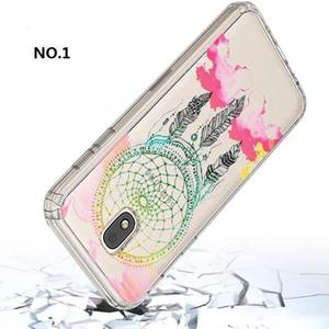 TELÉFONO Pintura Casos personalizado para ZTE Zmax PRO / Gran X4 / Axon7 / LG Aristo TPU acrílico del teléfono celular a prueba de golpes Suciedad-resistente Case