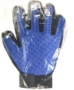 Pet удаление волос перчатка Уход перчатка Щетка для кошек Собака эффективной домашней массажной перчатки с Enhanced Five Finger Design Мех пролития инструмента
