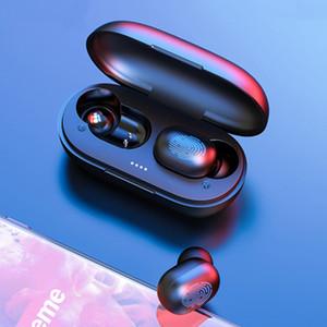 A6X TWS Bluetooth Earphone PK GT1 Wireless Headphones Touch Control HD Stereo In-Ear Sport Gaming Headset Earbuds