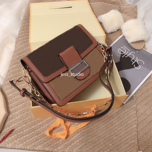 One-Shoulder Messenger Handtasche Mode Casual Damen Hochwertige Leder Blume Brieftasche Trend Outdoor Light