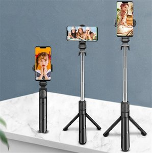 Multi-functional Retractable Tripod Selfie Stick Bluetooth Mobile Phone Stand For Live Broadcast Cell Phone Photograph Support Holder