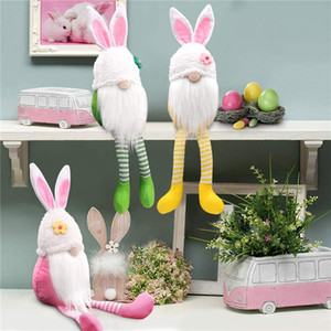 Bunny gnomi ragazze regalo di compleanno coniglio nordico svedese nissta scandinavo nano di Pasqua a gambe lunghe coniglietto gnome home decor ffd4141
