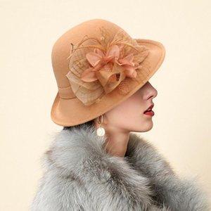 Eillysevens élégant 2020 fascinators chapeau pour femme Vintage dames robe femmes chapeaux # G401
