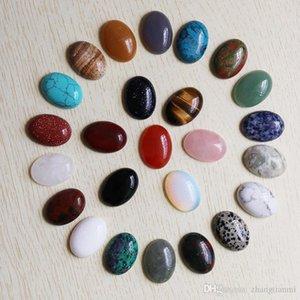 18 mm * 25 mm por mayor de alta calidad de la piedra natural oval Cab cabujón perlas lágrima de la joyería de DIY Haciendo envío libre del anillo