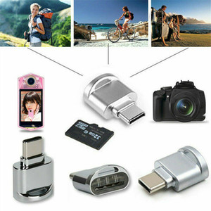 2021 New Android Phones Micro Card Reader Type C to USB 3.1 OTG HUB Adapter USB C 3.1 SD TF Micro SD Memory Card Reader