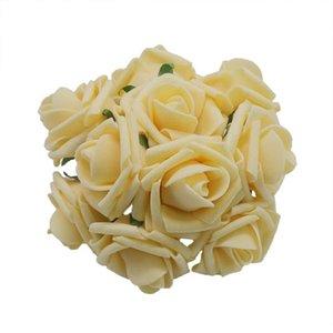 Green Wedding Rose Flowers 4cm Diy For Decoration 10pcs Foam Leaves Bouquet Decorative Artificial Car Bride Pe Mini With wmtmEq xhhair