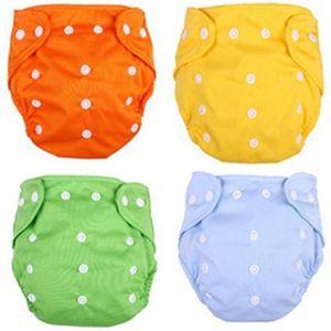 Wiederverwendbare Baby Tuch Windel Waschbare Einstellbare Trainingshose Tuch Windel Baby Umweltfreundliche Windeln 7 Farben KKA7853 364 K2