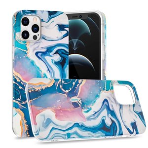 2021 Marble IMD Soft Phone Case for IPhone 12 pro max, Anti-drop Cover for IPhone 11pro XR XS max