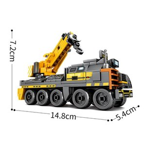 Building Blocks City Car Military Sets Wandering Earth Movie Educational Figure Bricks Compatible With Brands Toys For Children bbyJQk