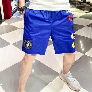 Trendy shorts men's 2020 summer new fashion brand casual hot diamond printed quick dry 5-point pants beach pants