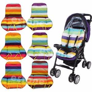 Baby Stroller Waterproof Cushion Pad Pram Padding Liner / Car Seat Pad Arco-íris