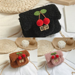 Girl Designer Handbag LOULOU Bags Y Pluss Top 77naC Handbag Cute Child Protector Genuine Cherry Women Famous Quality Leather Crossbody Ebqo