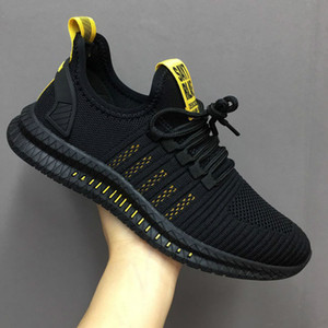 Fashion Men Sneakers Mesh Casual Shoes Lac-up Mens Shoes Lightweight Vulcanize Shoes Walking Sneakers Zapatillas Hombre size 40-45