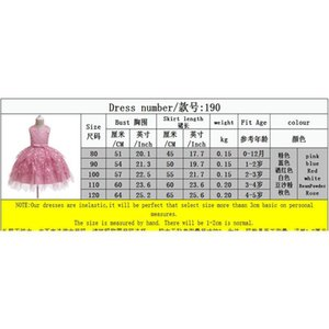 0-5y Princess Newborn Toddler Baby Kid Girls Dress Lace Bow Tulle Tutu Party Wedding 1st Birthday Dresses For Girls sqcfeG