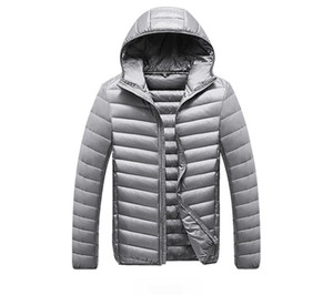 Fashion Solid Color Mens Down Jacket for Winter Casual Men Long Sleeves Keep Warm Thick Coats High Quality Mens Down Coats Size M-3XL