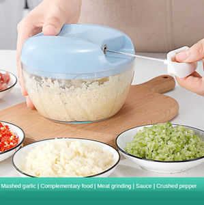 Manual meat grinder, blender, dumpling stuffing and vegetable shredding machine, household hand-pulled small-scale vegetable