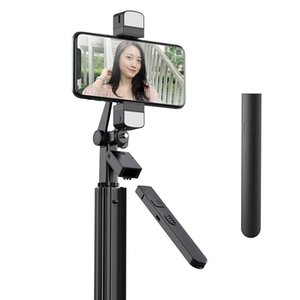 2020 New Fill Light Selfie Stick Handheld Smartphone PTZ Stabilizer Wireless Bluetooth Selfie Stick Live Fill Light Tripod