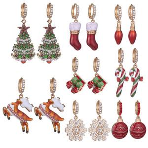 Halloween Pumpkin Earring Drop Earrings Female Thanksgiving Pattern Earring Women Vintage Earring Jewelry Gifts9 Designs