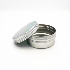 150ml Aluminum Jar Empty Aluminum Cosmetic Containers Pot Lip Balm Jar Tin For Cream Ointment Hand Cream Packaging Aluminum Box CCA3393