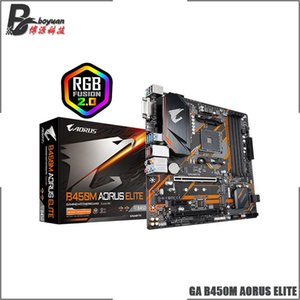 Gigabyte GA B450M AORUS ELITE AMD B450 / 4-DDR4 DIMM /M.2 /USB3.1 / Micro-ATX / Neu / Max-64G Double Channel AM4 Motherboard