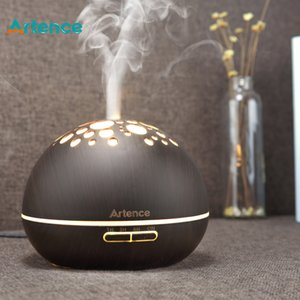 Aroma Essential Oil Diffuser with 7 Color LED Lights Changing Timing Function for Home Office Yoga 300ml Ultrasonic Humifier Free