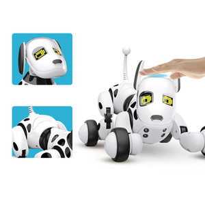 2020 Hot Christmas gift Induction Toy Dog Smart Control Robot Electronic Pet Interactive Toys Interactive Perro Robot Robotic Toys