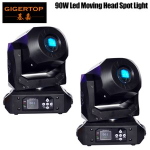2xLot Mini LED DMX Gobo Moving Head Spot Light Club de 90W DJ Party scène éclairage Disco têtes Moving Light