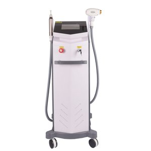 2020 2 in 1 808nm diode laser hair removal laser tattoo removal face whitening skin rejuvenation face lifting Beauty Machine