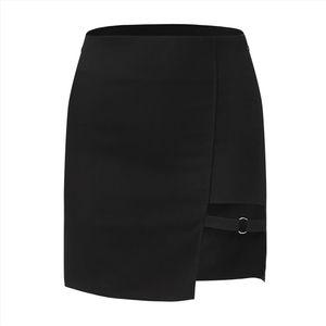 Женщины Женская мода Sexy Split Мини-юбка Дешевые Sexy Юбки Saia Midi Saia Feminina Faldas Mujer Drop Shipping