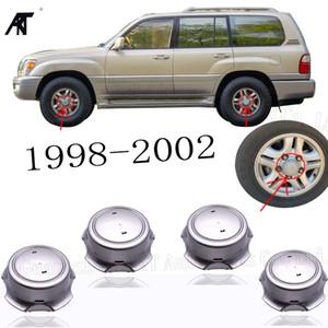 """20pcs / lot d'argento del centro di rotella Cap Hubcap per 42603 60410 1998 2002 LX470 16"""" Rim scanalata"""