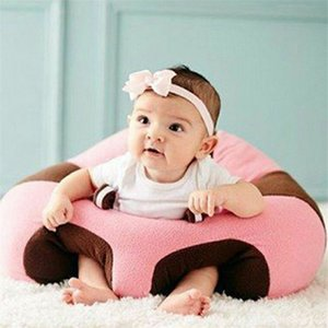 Brand New Infant Toddler Kids Baby Support Seat Sit Up Soft Chair Cushion Sofa Plush Pillow Toy Bean Bag Animal Sofa Seat 201109