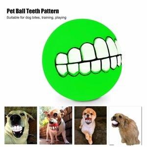 jouet chien chat animal balle dent peluche balle dressage de chiens mordent résistant KITTEN TOY silicium dents de chien de vérification de balle