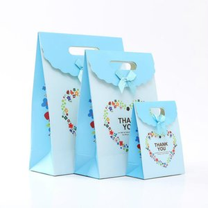New Creative red pink Gift Bag Box for Party Baby Shower Paper Chocolate Boxes Package Wedding Favours candy Boxes