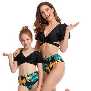 Neuf maillots de bain Port-enfant maillot de bain pour enfant Femme Femme Mode Multiple Couleur Été Matériel Équipement de baignade Plage de deux pièces