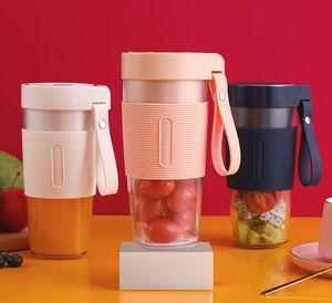 350ml Rechargeable Mini Portable Juice Cup Electric Fruit Juicer USB Handheld Vegetable Juice Maker Blender Juice Maker Cup Mixer Bottle