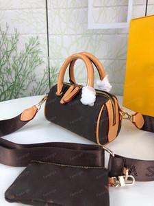 Designer mini borse Boston 2 in 1 Borsa a tracolla portatile da donna cuscino cuscino essenziale borse a tracolla veloce con borsa 68025