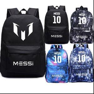 Schöner Messi Rucksack Neuen Muster Laptop Mochila Mode Männer Frauen Junge Mädchen Knapsack Männer Frauen Reise-Laptop-Tasche