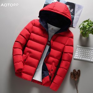 New Fashion Hoody Solid Color Jacket Men Hoodies Outwear Casual Coat Men's Hooded Zipper Warm Thicken Winter Overcoats 201028